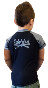 NEW Kids Comp Team Rash Guard - Gray