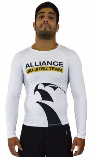 Alliance Rash Guard L/S - White