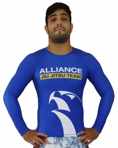 Alliance Rash Guard L/S - Blue