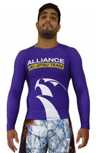 Alliance Rash Guard L/S - Purple