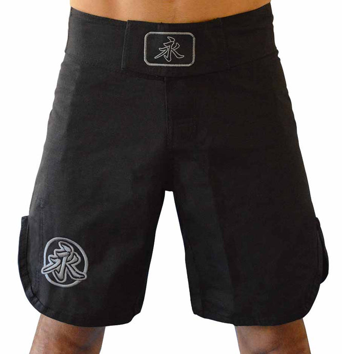 KNG Fight Shorts - Black