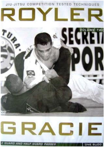 Royler Gracie Competition Tested Techniques DVD Set (4pc)