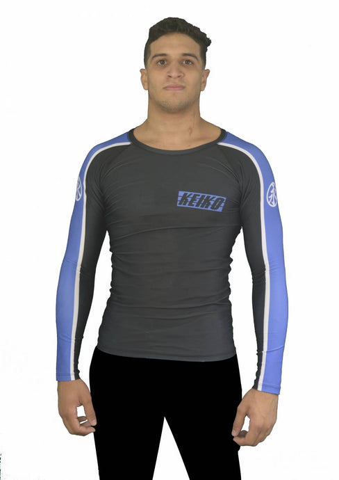 Move Rash Guard L/S - Blue