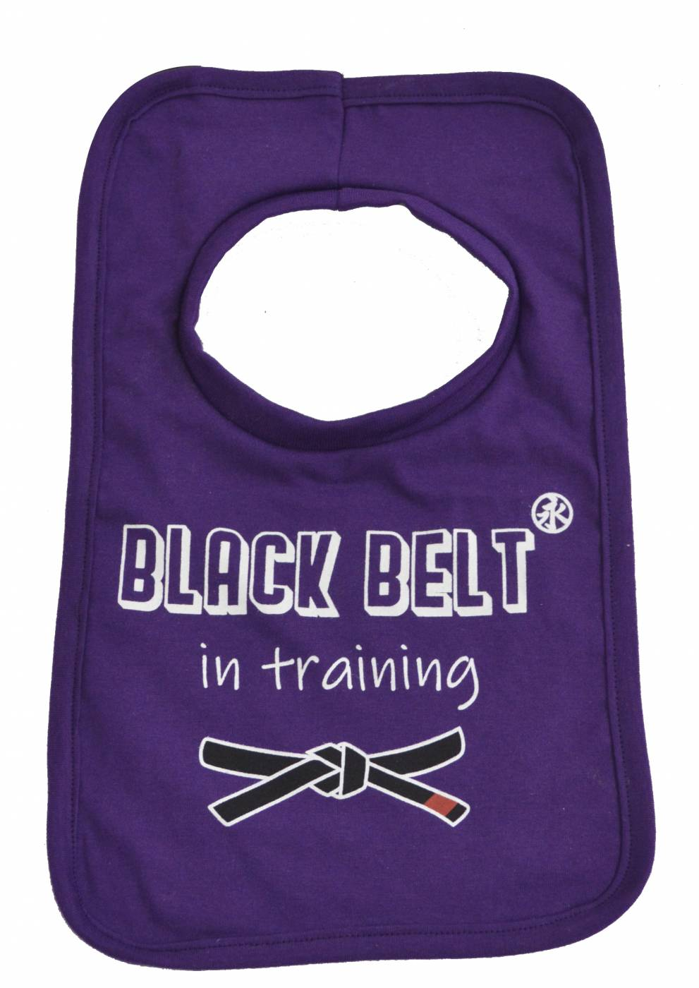 Black Belt in Training Bib - Purple
