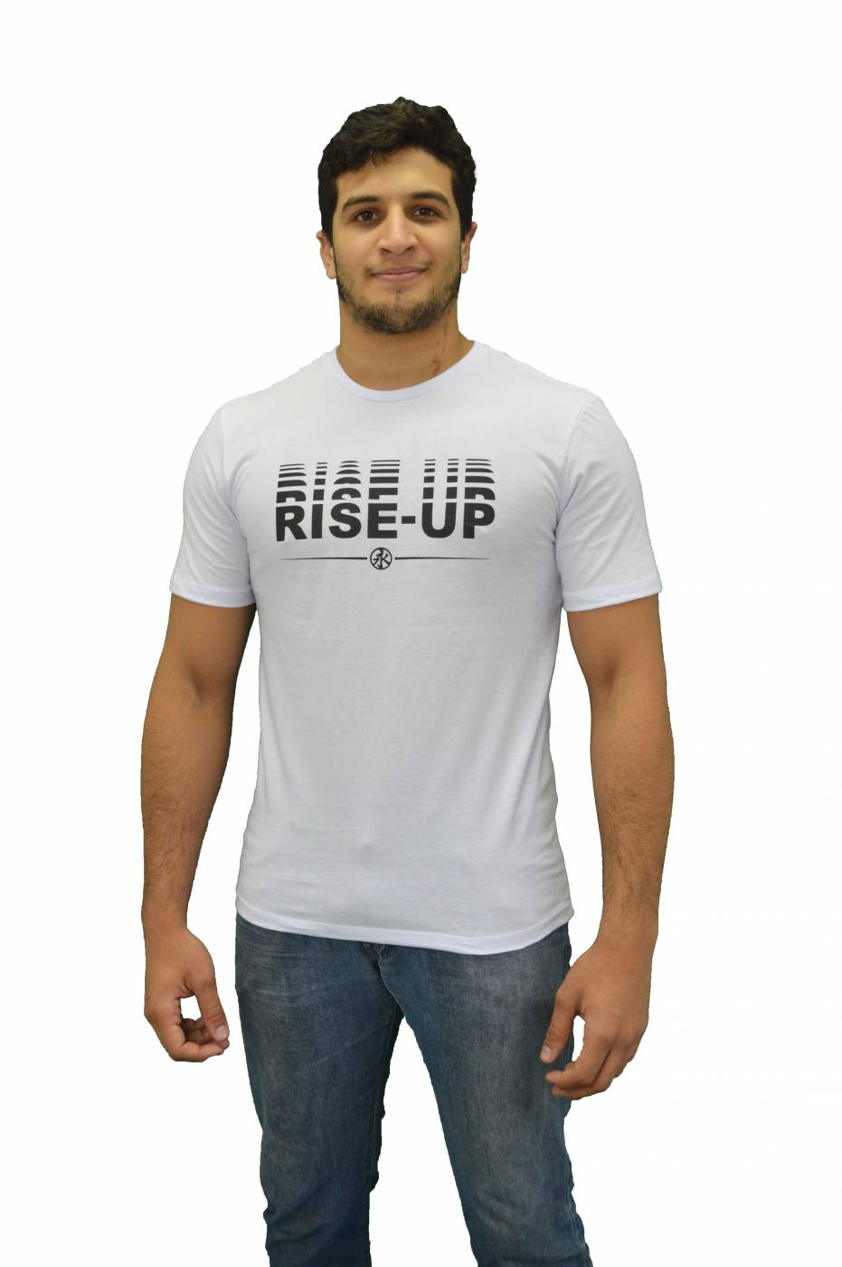 Rise-Up T-shirt - White
