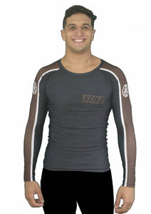 Move Rash Guard L/S - Brown