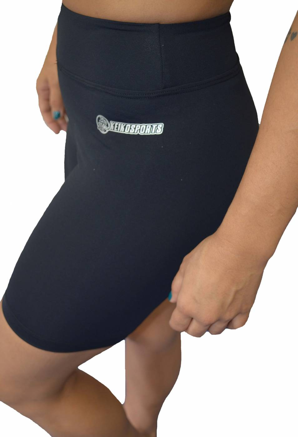 Womens Skin Shorts - Black