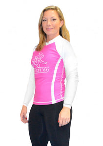 Speed Rash Guard L/S - Pink