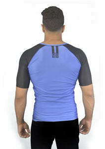 Road Rash Guard S/S - Blue