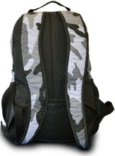 Multi Back Pack - Black/Camo