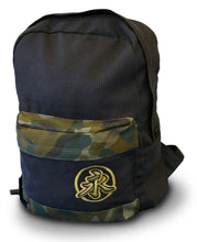 New Style Back Pack - Black/Camo