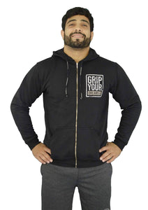 Grip Your Dreams Hoodie - Black