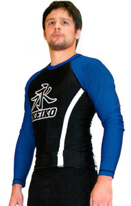 Speed Rash Guard L/S - Blue