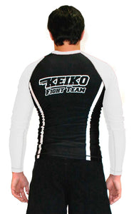 Speed Rash Guard L/S - White