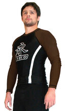 Speed Rash Guard L/S - Brown