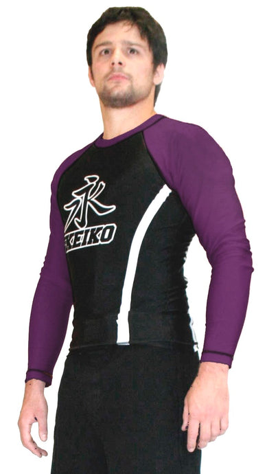 Speed Rash Guard L/S - Purple