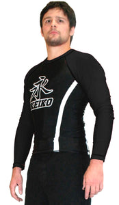 Speed Rash Guard L/S - Black