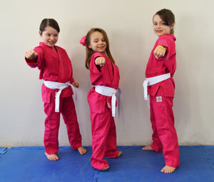 Ultra Light Juvenile Gi - Pink