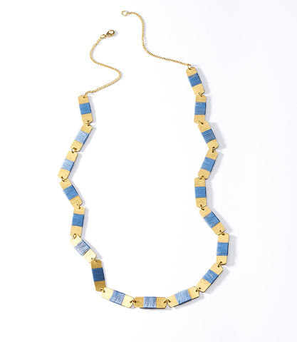 Chameli Necklace - Coin Cascade
