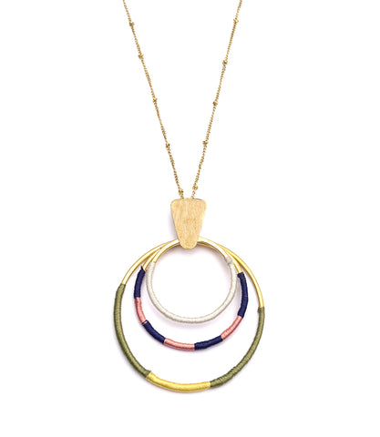 Kaia Necklace - Gold Link