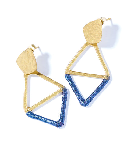 Ria Earrings - Multi Swirl