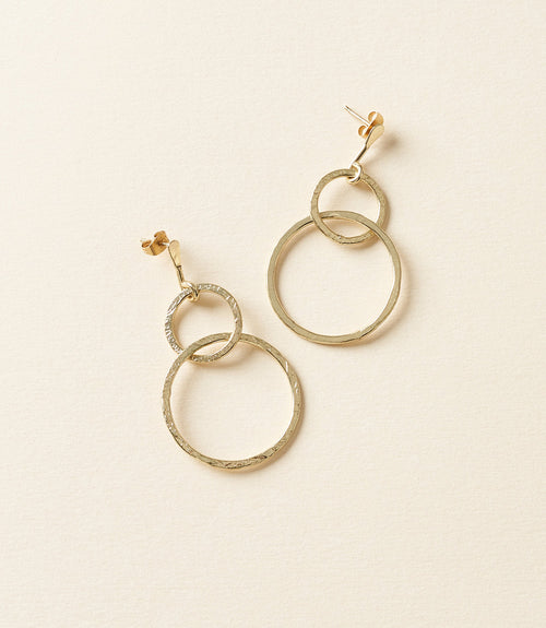 Diya Earrings - Loops