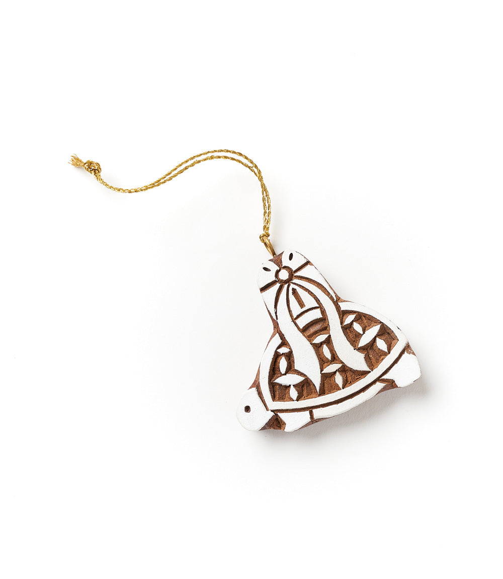 Hima Bindu Ornament - Festive Turtle