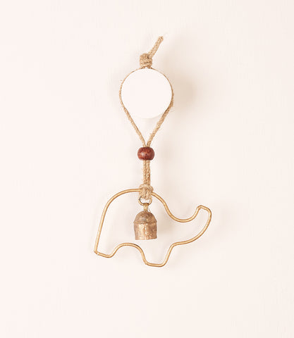 Air Element Bell Chime - Quatrefoil Cascade