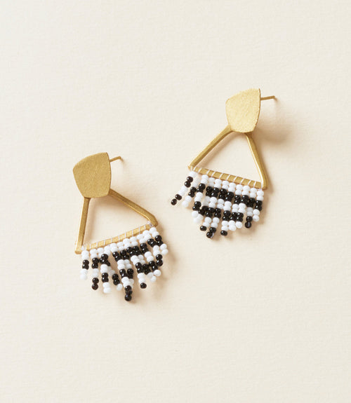 Kalapriya Earrings - Stripe Diamond