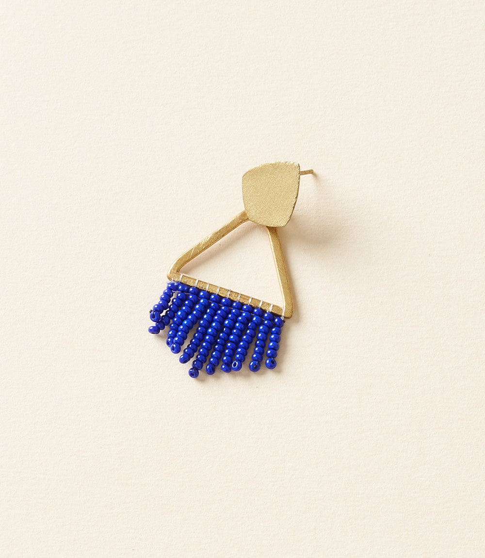 Kalapriya Earrings - Navy Diamond