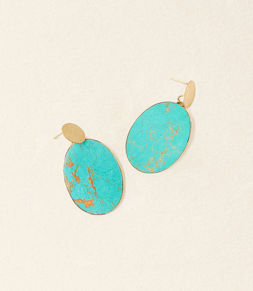 Sandhya Earrings - Coin