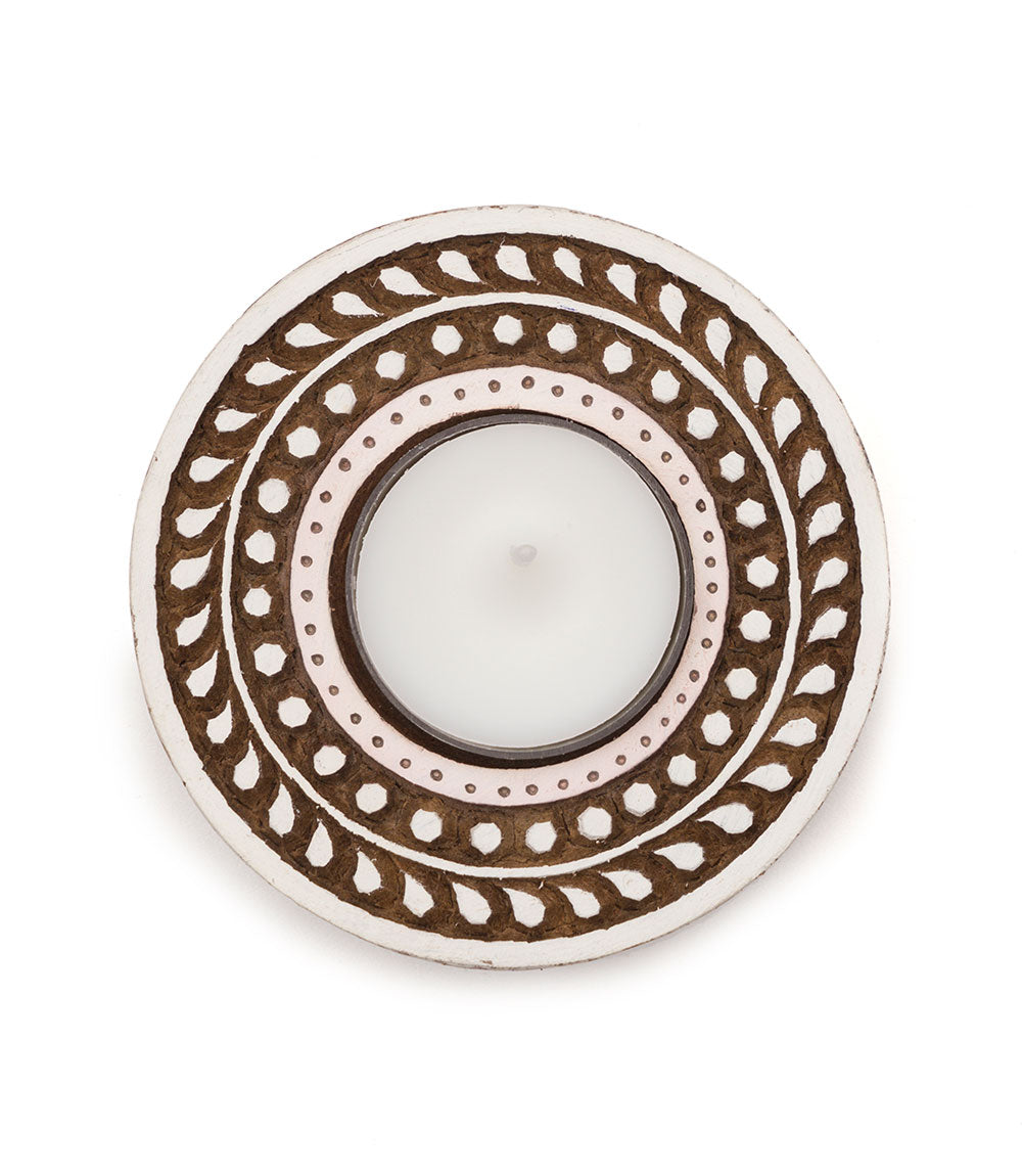Aashiyana Tea Light Holder - Vine