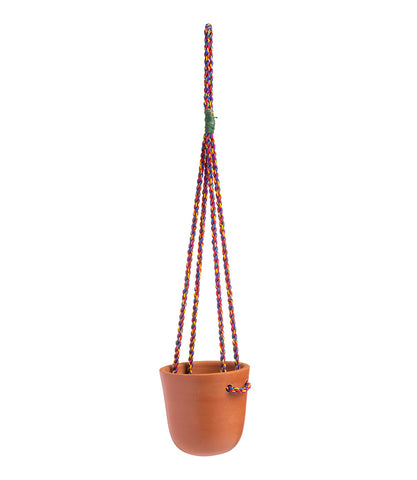 Twist Hanging Planter - Round