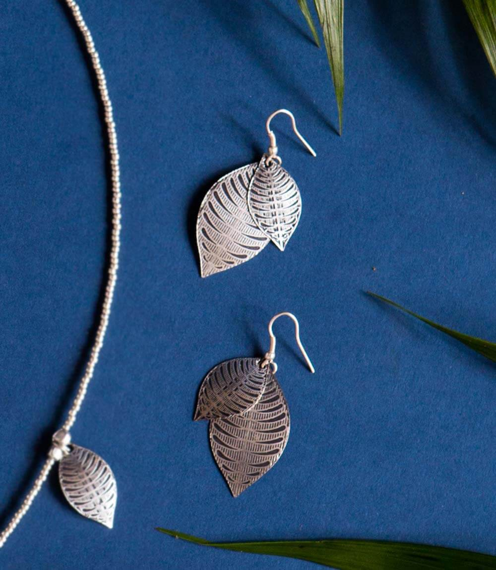 Sanctuary Earrings - Silver