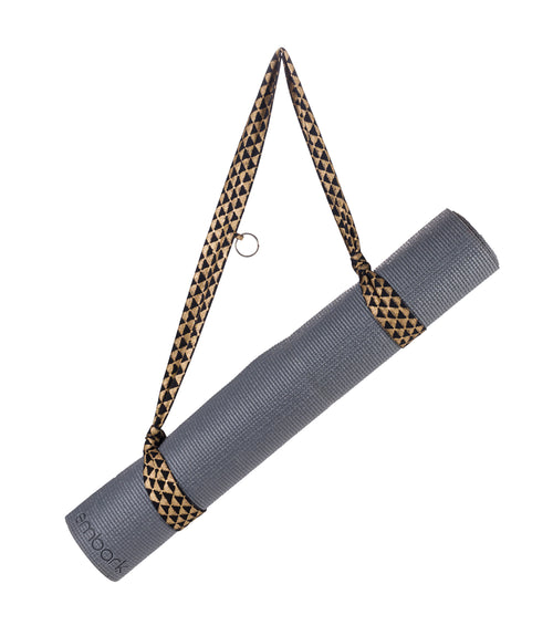 Metallic Yoga Mat Strap