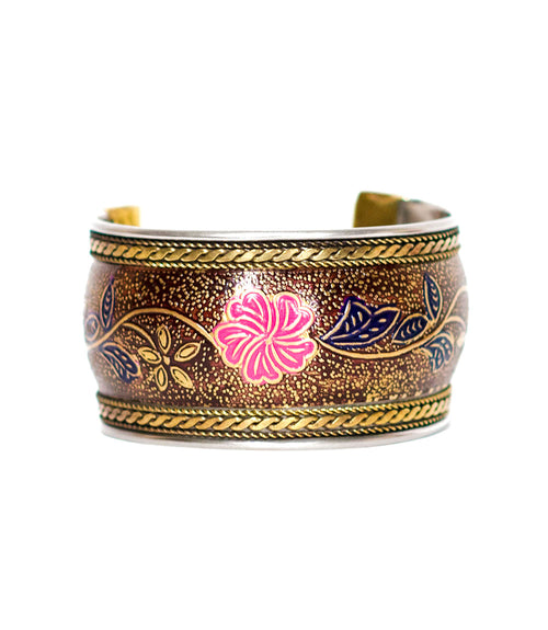 Thick Bollywood Cuff - Lilium