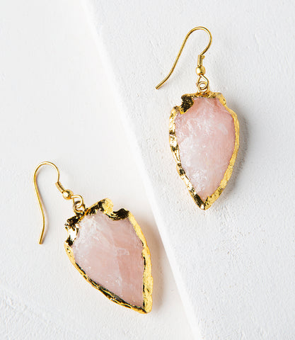 Kaia Earrings - Coin Drop