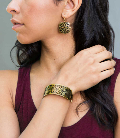 Arabesque Cuff - Gold