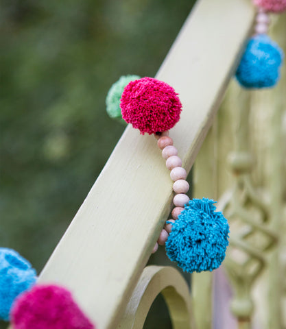 Gum Ball Tassel Garland - Multi