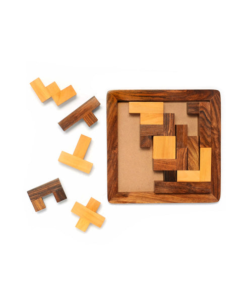 Piece-It-Together Wood Game