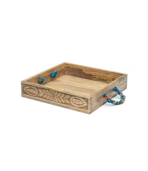 Sari Mango Serving Tray - Square