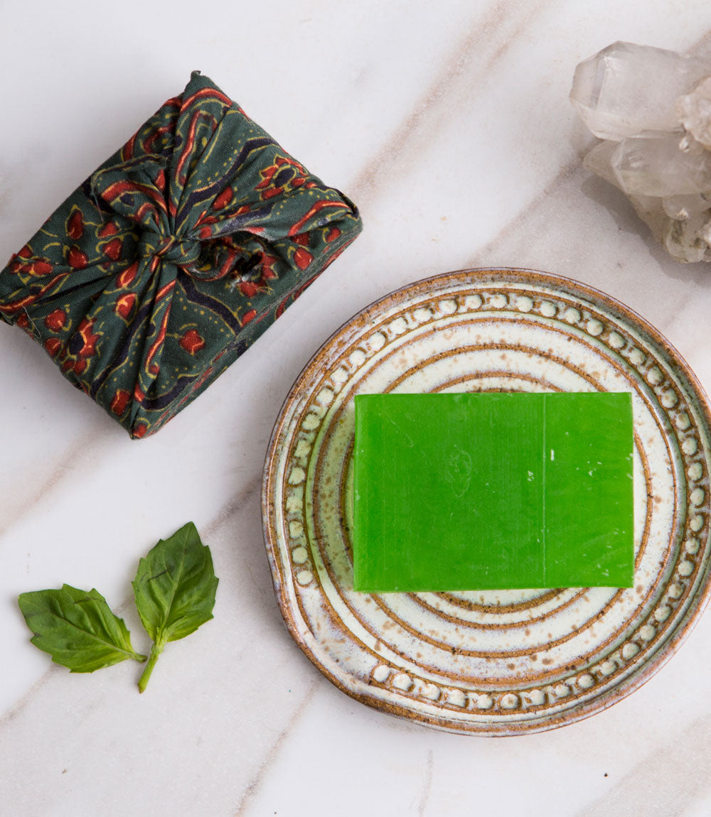 Ayurvedic Soap Bar - Fresh Basil