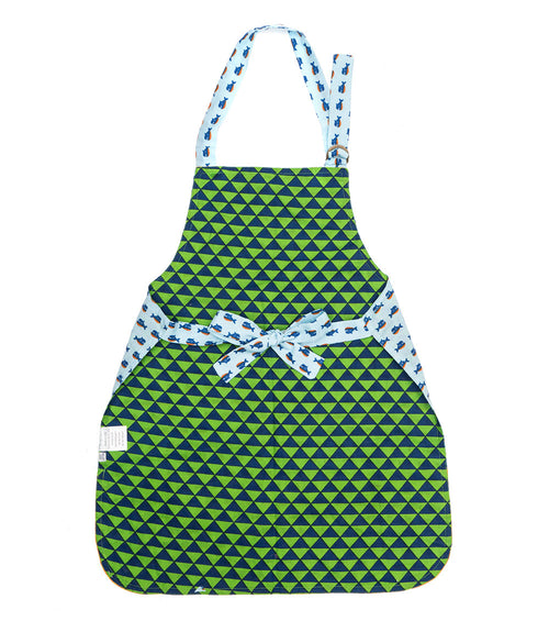 Little Chef Apron - Whale Print