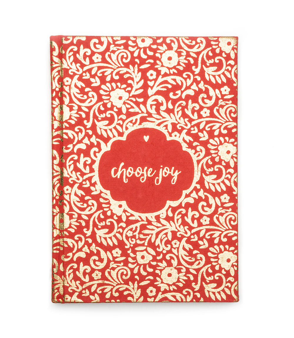 Metallic Message Journal - Choose Joy