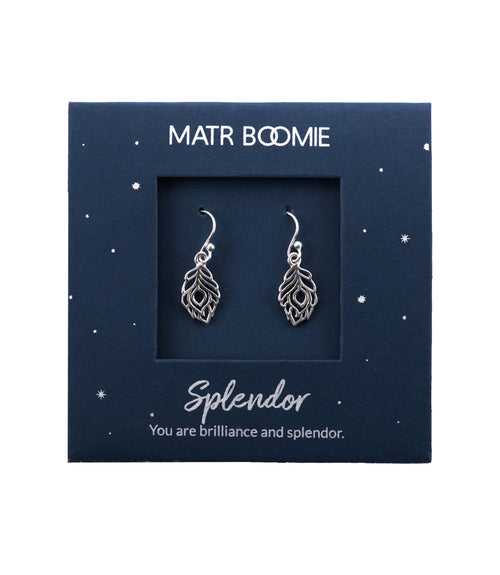 Shanasa Sterling Silver Charm Earrings - Splendor