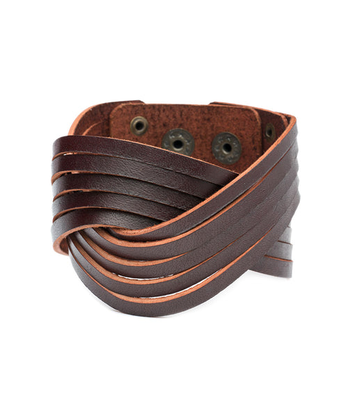 Atman Cuff - Brown