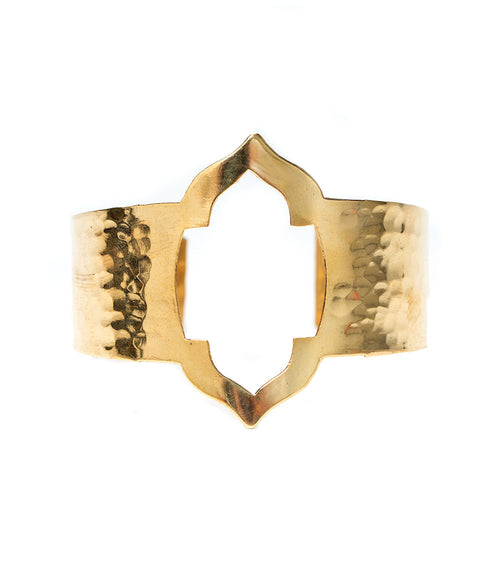 Ashram Window Cuff - Gold