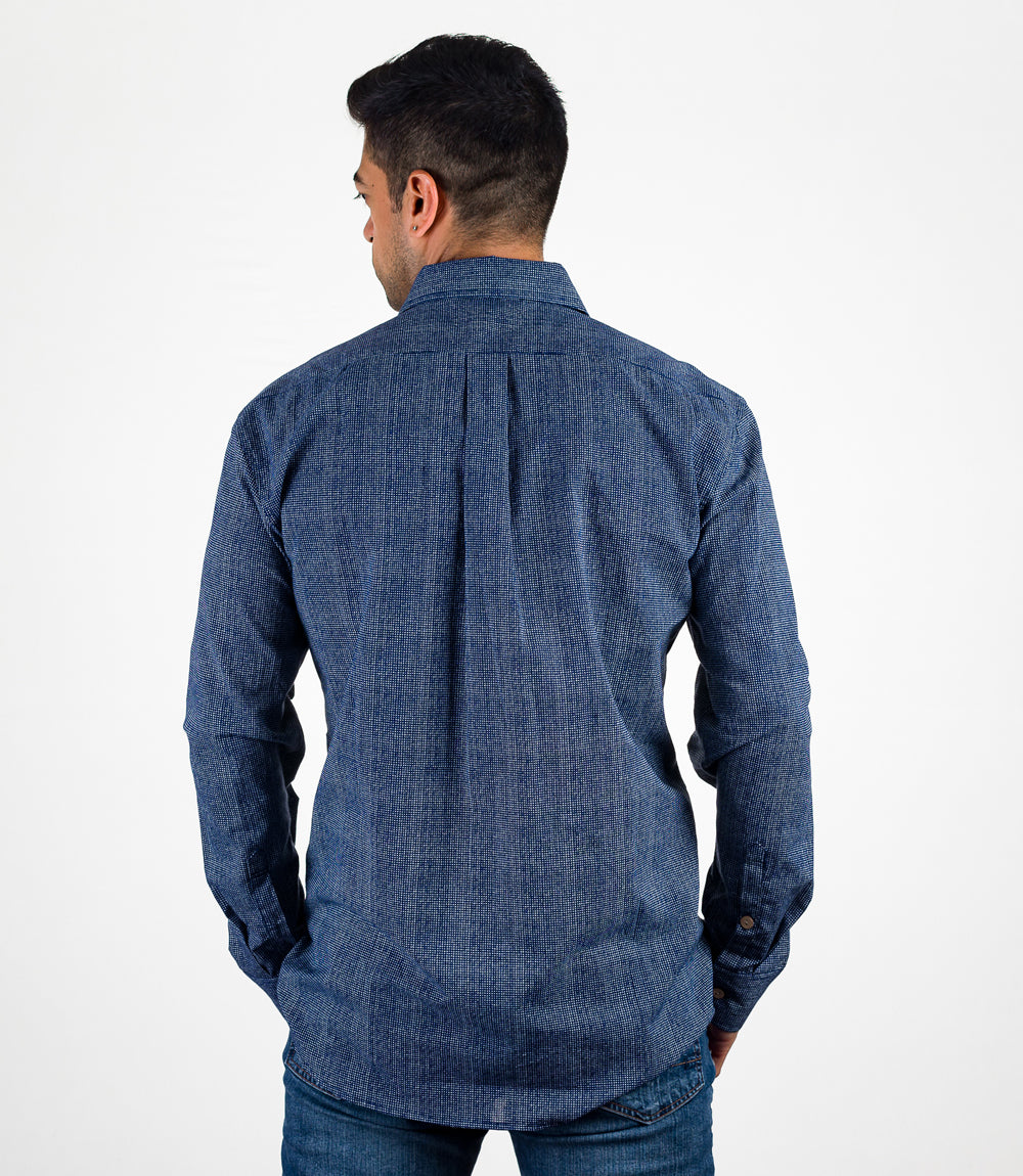 Avani Pocket Button Down - Blue L