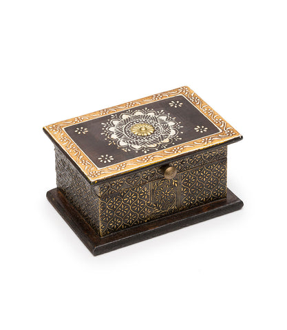 Artemis Treasure Box - Large Indigo