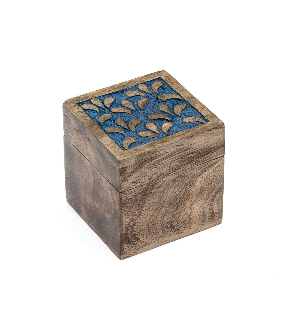 Holi Color Rub Keepsake Box - Botanical